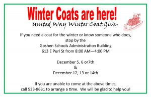 United Way Coats 2016